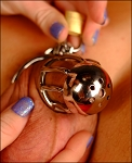 Little Stubby Male Chastity Cage