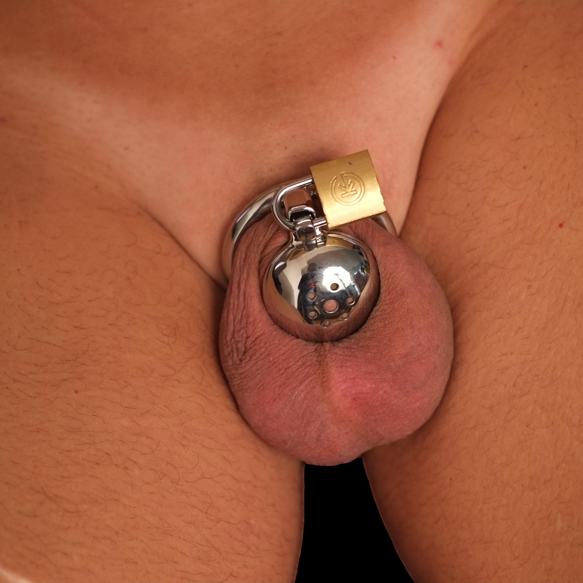 Male Chastity Bondage Lock Penis Cage Adult Sex